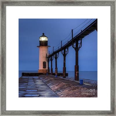 Saint Joseph, Michigan Lighthouse Framed Print