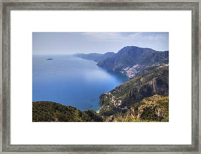 Sentiero Degli Dei - Amalfi Coast Framed Print