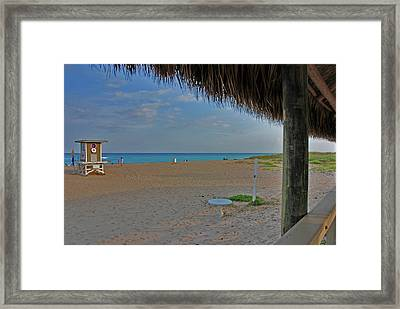 Framed Print featuring the photograph 7- Southern Beach by Joseph Keane