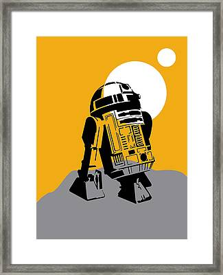 Star Wars R2-d2 Collection Framed Print