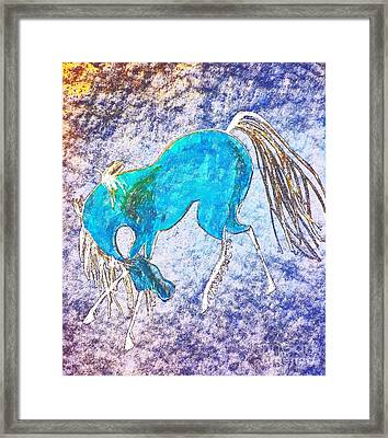 The Dancing Pony Framed Print