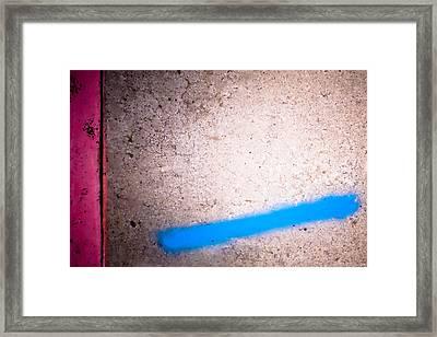 Color Field 14 Framed Print