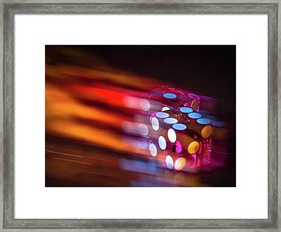 7-up Framed Print by Mark Dunton