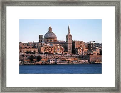 Valletta - Malta Framed Print by Joana Kruse