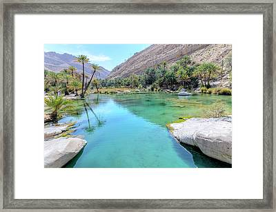 Wadi Bani Khalid - Oman Framed Print by Joana Kruse