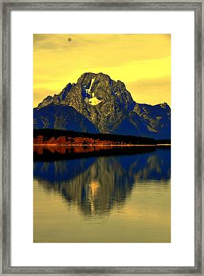 Yellowstone Park  Framed Print by Aron Chervin