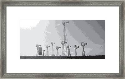 70/mph Framed Print by Max Mullins