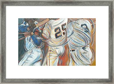 700 Homerun Club Framed Print by Redlime Art