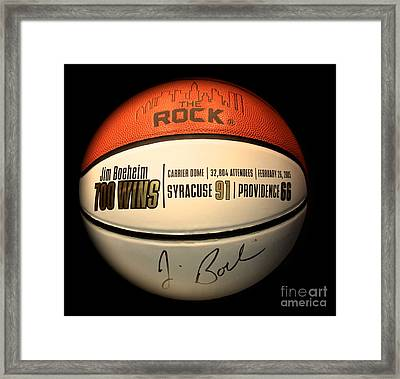 700 Wins Framed Print by Steve Ratliff