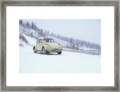 71 Vw Bug Framed Print