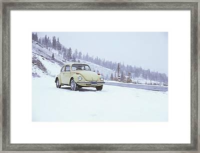 71 Vw Bug Framed Print