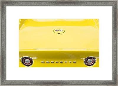 72 Yellow Framed Print by Tim Gainey