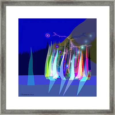 720 - Sailing A Framed Print
