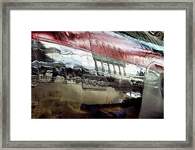737 Rivets Framed Print by David Patterson