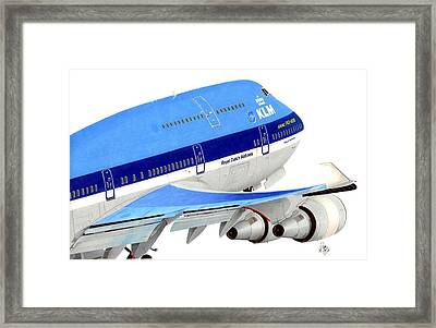 747 Framed Print by Lyle Brown