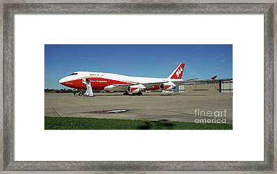 747 Supertanker Framed Print