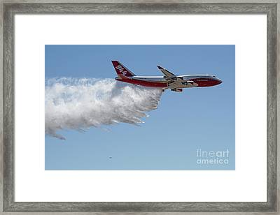 747 Supertanker Drop Framed Print