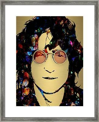 John Lennon Collection Framed Print