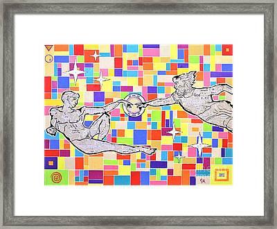 76 Aka The Gift Framed Print by Jeremy Aiyadurai