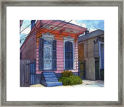 77 Framed Print by John Boles