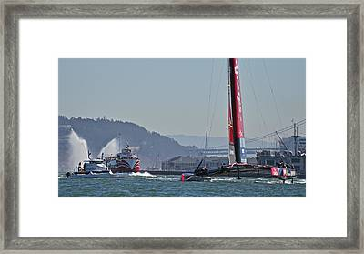 America's Cup 34 Framed Print by Steven Lapkin