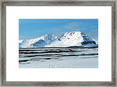 79 Degrees North B Framed Print by Terence Davis