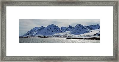 79 Degrees North N Framed Print by Terence Davis