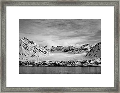79 Degrees North O Framed Print by Terence Davis