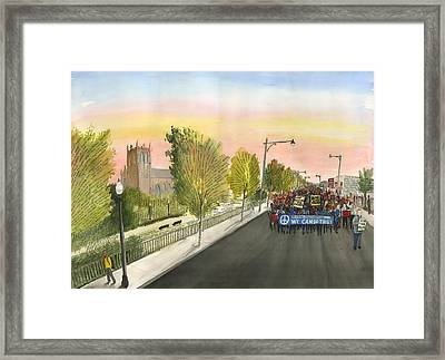 79th Street Matters Framed Print