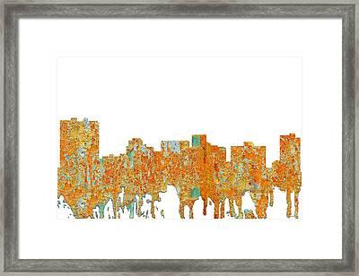 Arlington Texas Skyline Framed Print