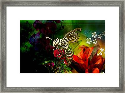 Bee Collection Framed Print