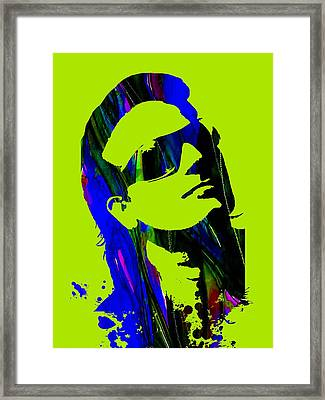 Bono Collection Framed Print by Marvin Blaine
