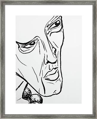 8 Framed Print by Brian Kendall James