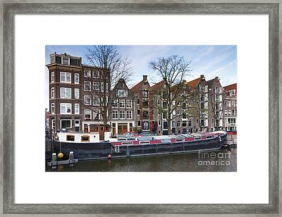 Channels Of Amsterdam Framed Print by Andre Goncalves
