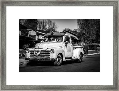 Classic Cars Framed Print by Jon Manjeot