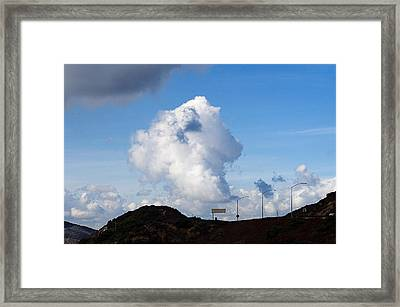 Clouds Framed Print by Clayton Bruster