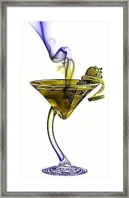 Cocktails Collection Framed Print by Marvin Blaine