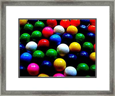 Color Color Color Framed Print by Anand Swaroop Manchiraju