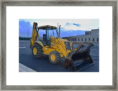 8 - Construction Equipment Series Framed Print by Matt Plyler