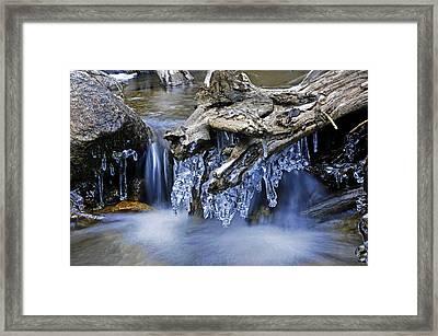 Creek Framed Print by John Anderson
