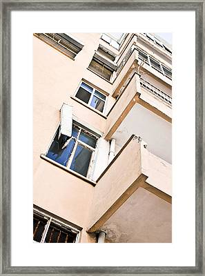 Derelict Building Framed Print by Tom Gowanlock