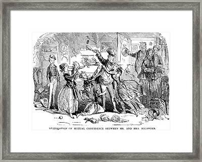 Dickens: David Copperfield Framed Print