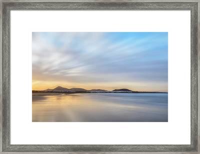 Famara - Lanzarote Framed Print by Joana Kruse