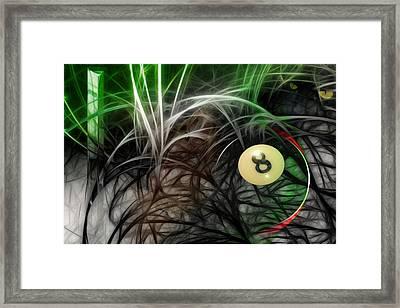 8-felt Threads Framed Print by Draw Shots