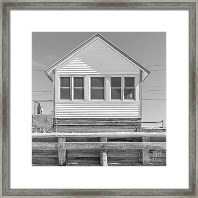 Framed Print featuring the photograph 8 - Flower Cottages Series by Edward Fielding