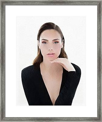 Gal Gadot Framed Print by Best Actors