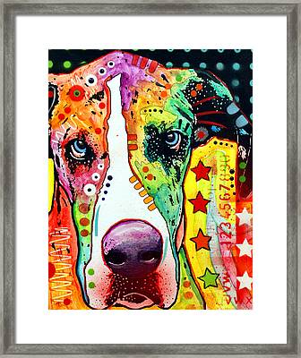 Great Dane Framed Print