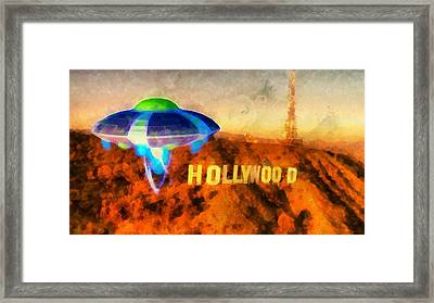 Invasion Earth Framed Print by Raphael Terra