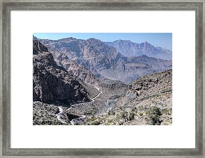 Jebel Shams - Oman Framed Print