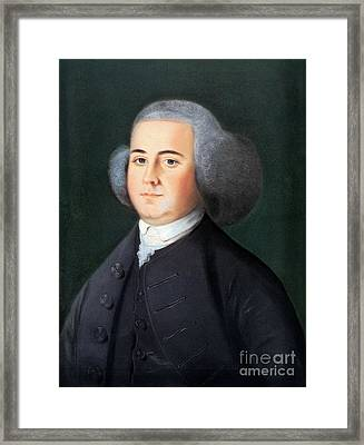 John Adams (1735-1826) Framed Print